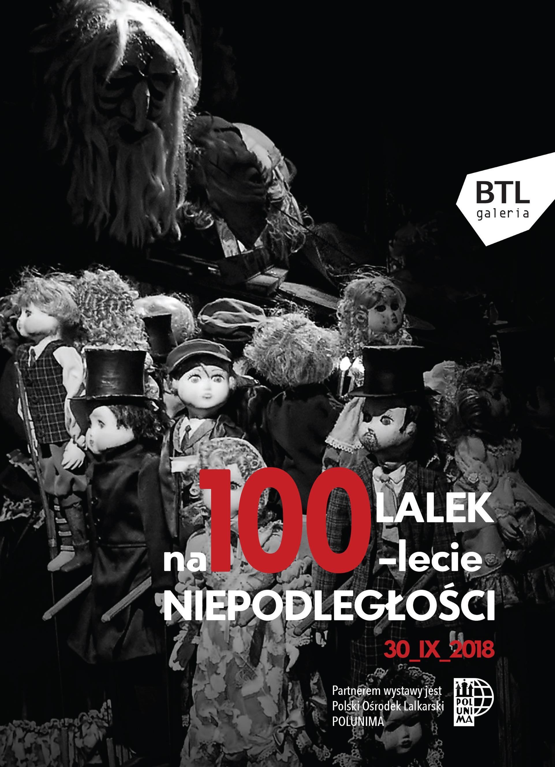 """Wystawa """"100 lalek na 100-lecie Niepodległości"""""""